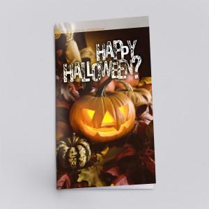 Der Flyer zu Halloween zeigt, dass dieses Fest gar nicht so harmlos ist