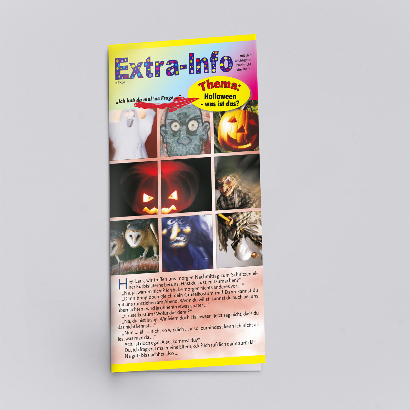 Extra-Info zum Thema Halloween