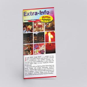 Extra-Info für Kinder zum Thema Weihnachten