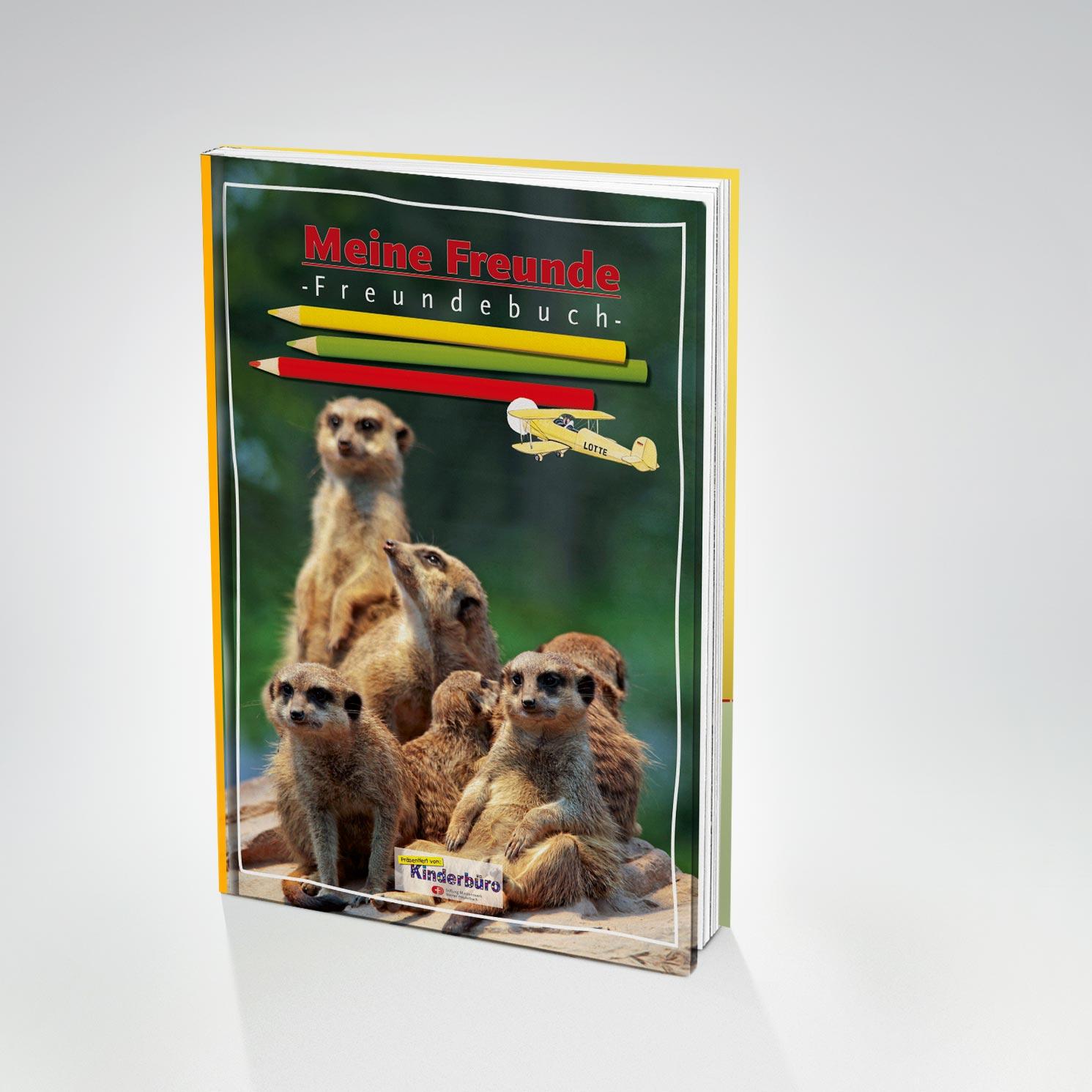 Meine freunde. Ein Freundebuch für Kinder
