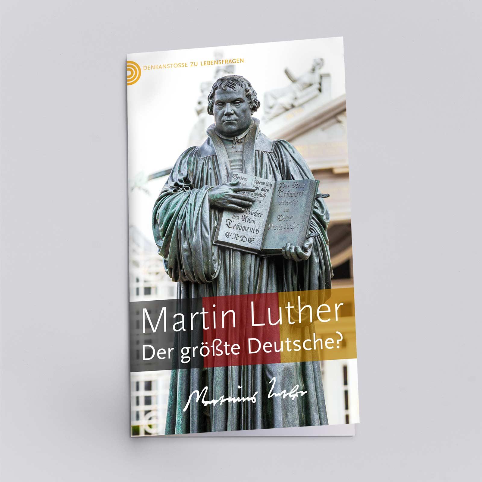 Ein Heft über Martin Luther