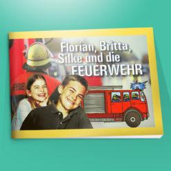 Ein Heft für Kinder über das Thema der Feuerwehr