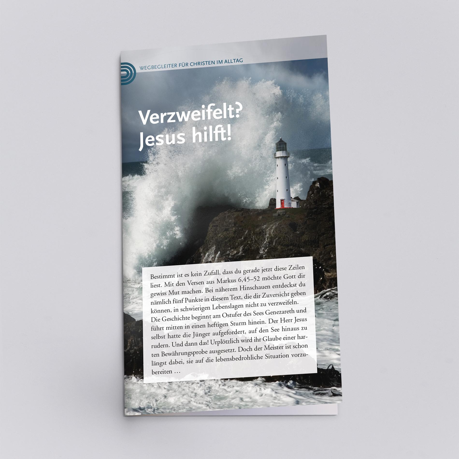 Bei Verzweiflung hilft Jesus