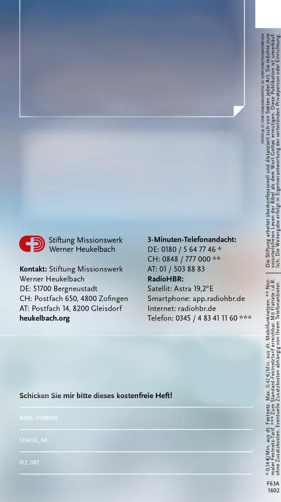 Stiftung missionswerk werner heukelbach zofingen