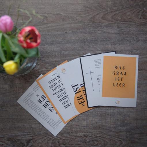 Das Kartenset umfasst 5 verschiedene Karten